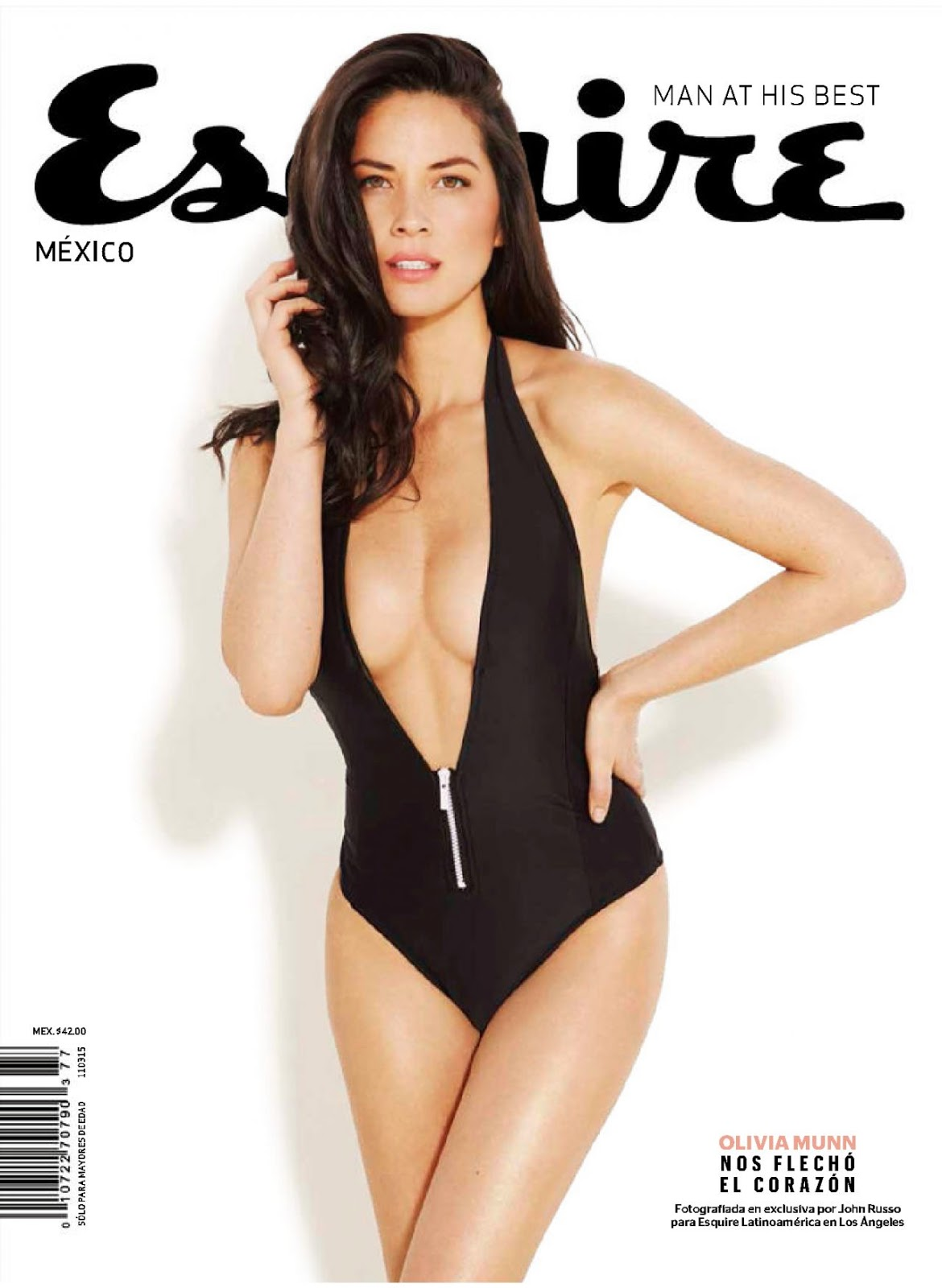 Actress, Model: Olivia Munn - Esquire Mexico February 2015 Issue