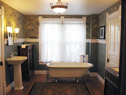 British Paintings: Victorian bathroom