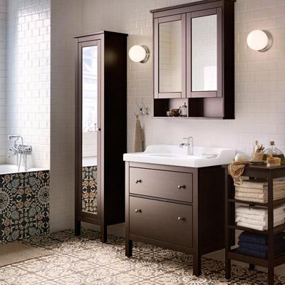 Evoluzione Bagno: Arredare il bagno con ikea