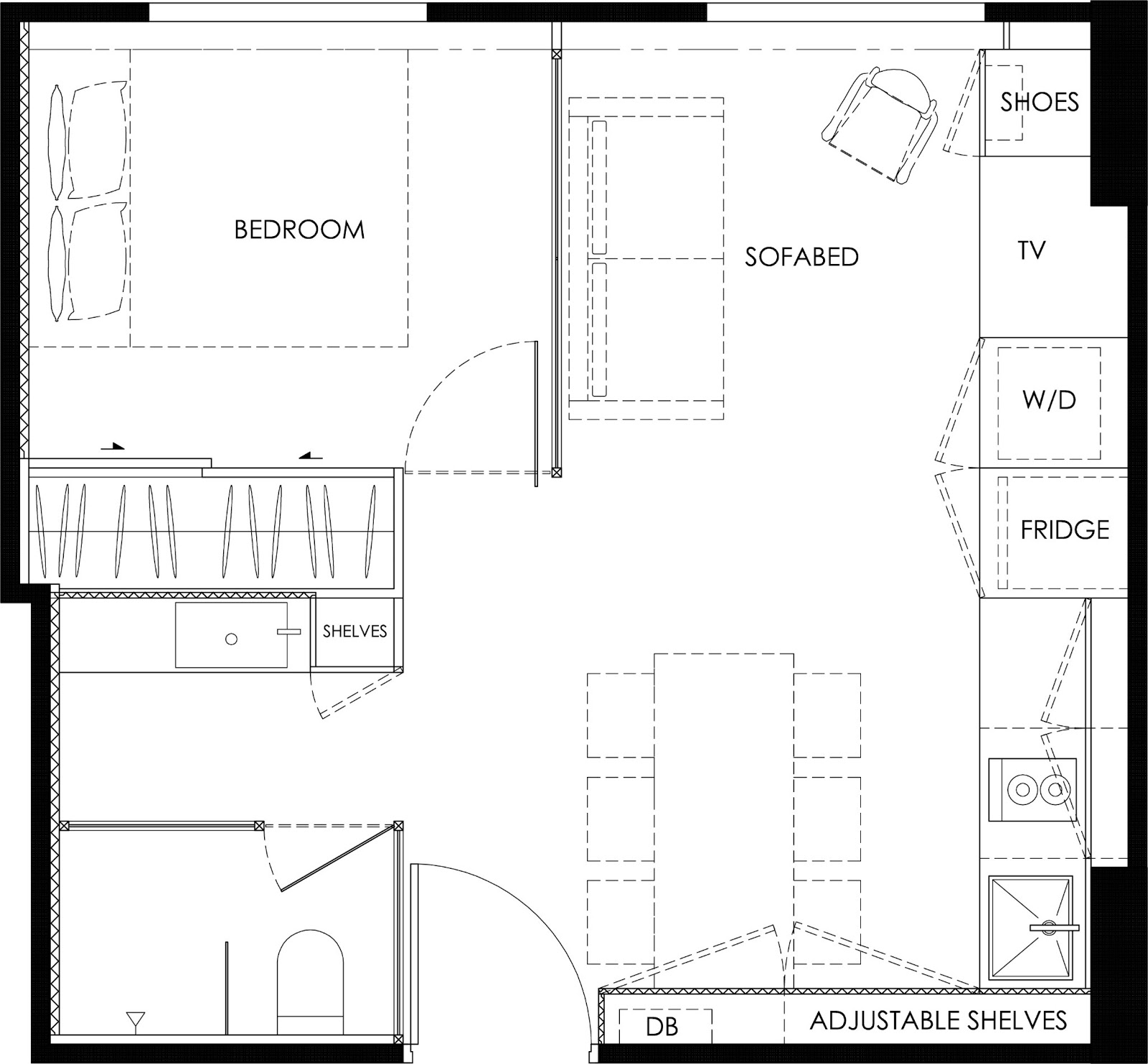 Transforming A 35sqm Bachelor 39 S Pad Cavan Suite