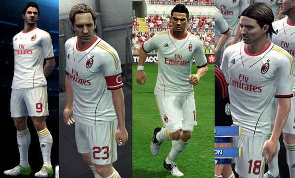 Kit Away AC Milan 2013/14
