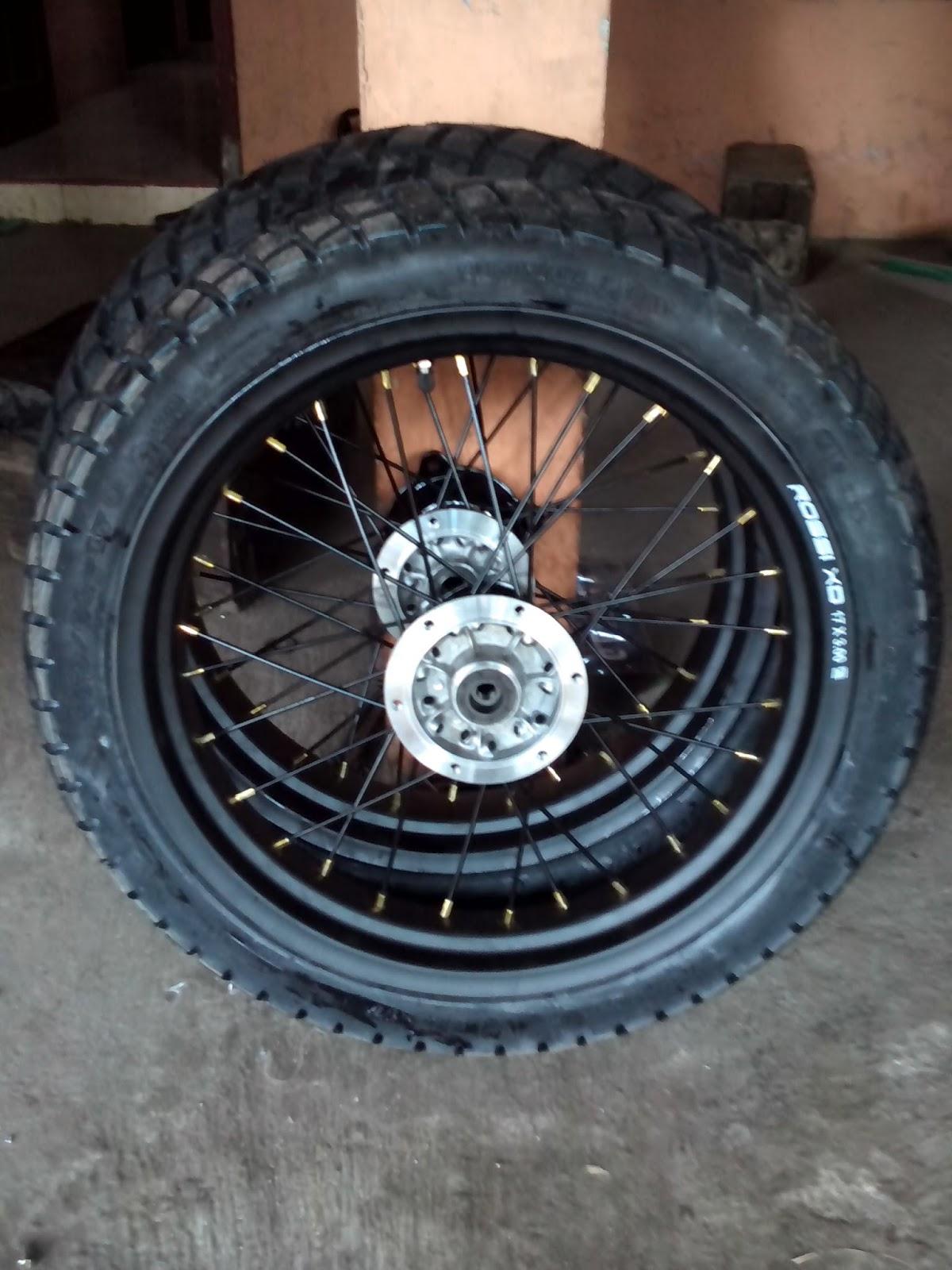 Velg Satu Set Roda KLX Velg Rossi XD 350 Dan 300 Ring 17
