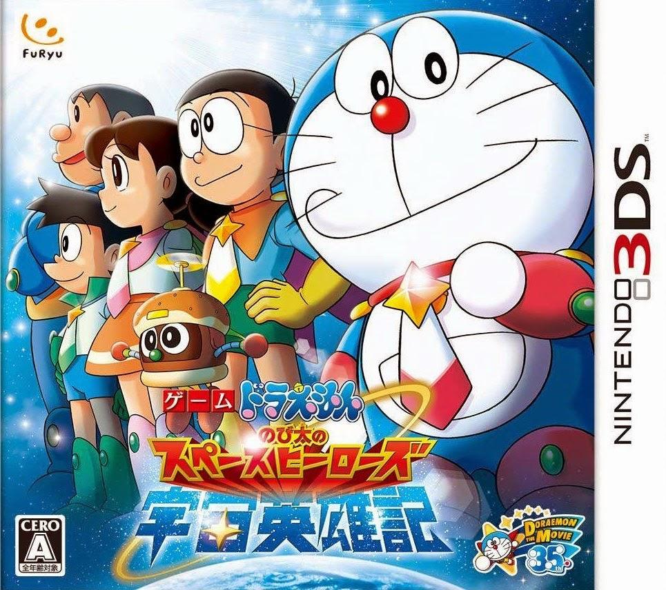 Doraemon nobita no space heroes jpn n3ds rom for Doraemon new games