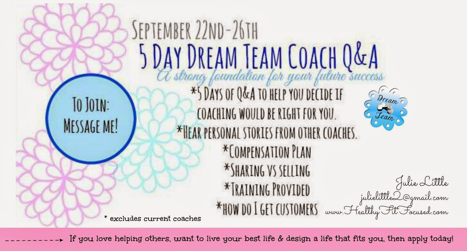 Beachbody Coaching Opportunity, What is a Beachbody Coach, Q & A, Julie Little, www.HealthyFitFocused.com