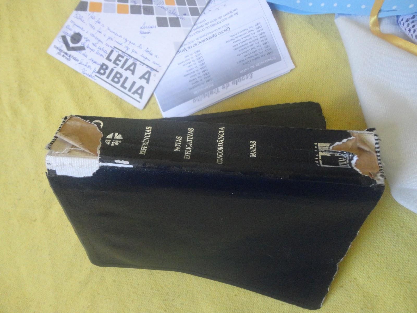 Proseando: E por falar em Restauração Como reformar sua Bíblia #2F619C 1600x1200