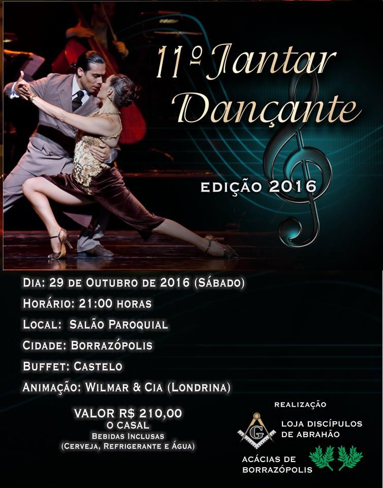 11ª Jantar Dançante em Borrazópolis