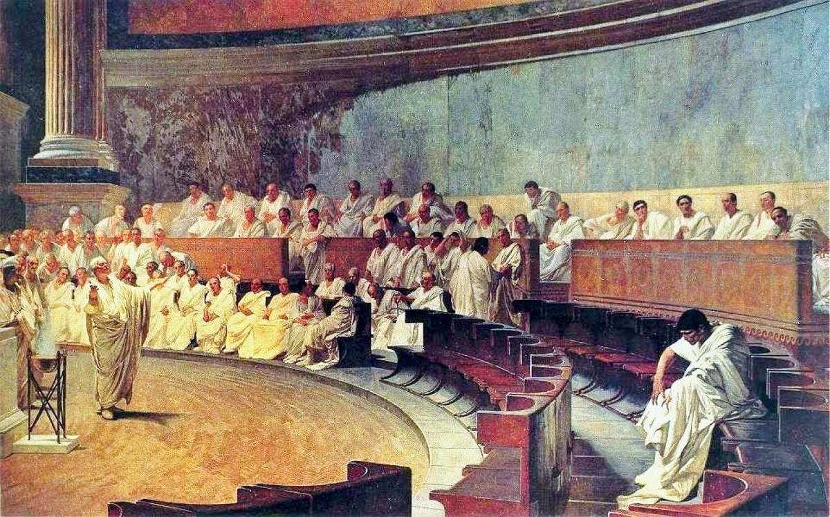 Les Traités de Methir et de Minas Tirith 16.senat-catilina