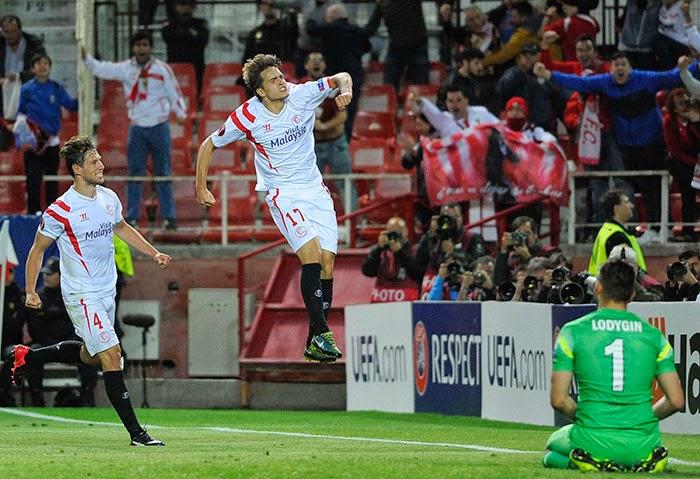 Crónica Sevilla FC 2 Vs Zenit 1