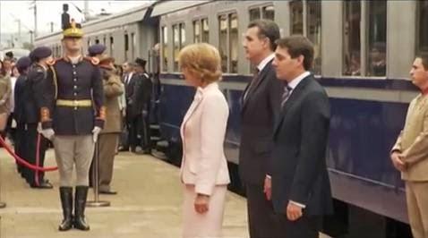 Trenul Regal poposeste la Craiova