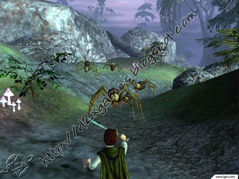 Free Download Games - The Lord Of The Ring The Fellowship Of The Ring