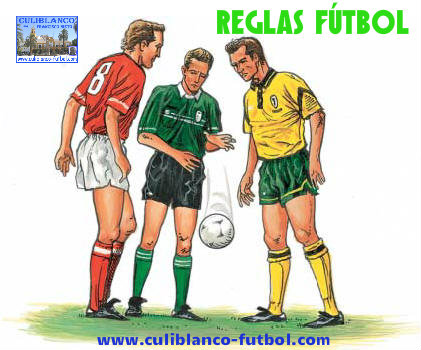 Culiblanco por francisco nieto reglas desconocidas de for 10 reglas del futbol de salon