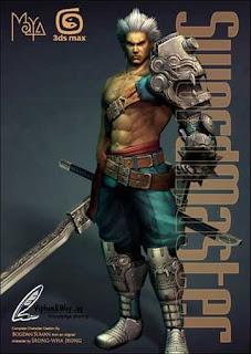 Swordmaster - 3ds Max