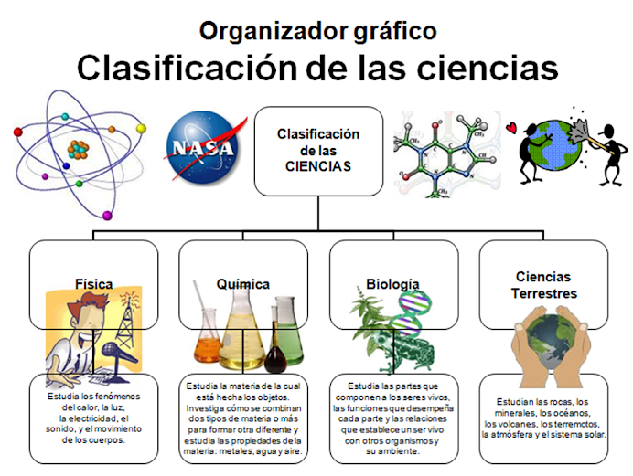 Clasificacin y ramas de la Ciencia