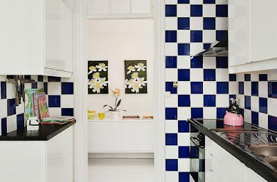 xadrez na cozinha