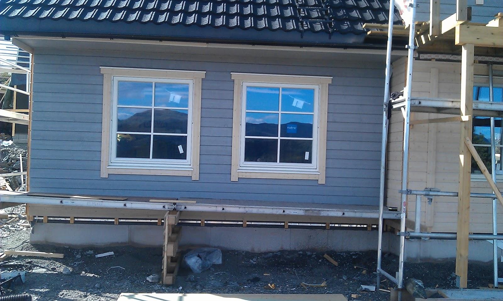 Listing av vindu utvendig