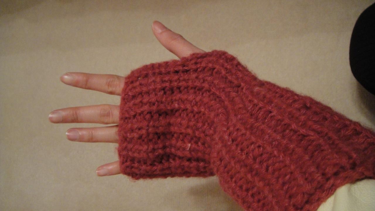 LittleMsBusy: Patons Soft HazeFingerless Gloves and Pom ...