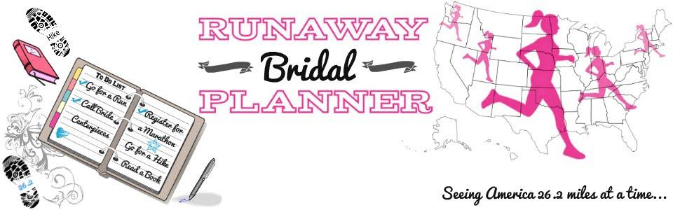 Runaway Bridal Planner
