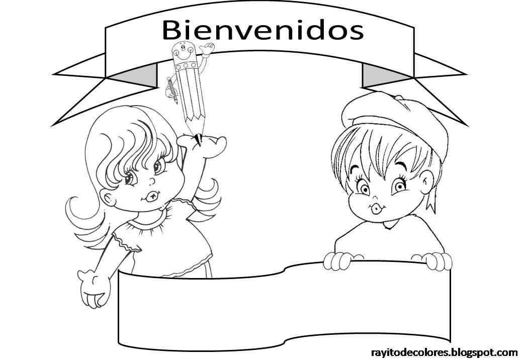 CoSqUiLLiTaS eN La PaNzA BLoGs: CARTELES DE BIENVENIDOS A CLASE