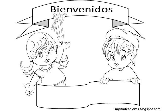 CARTELES DE BIENVENIDOS A CLASE