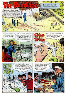 Zorro #9 1960s dell comic book page art by Alex Toth