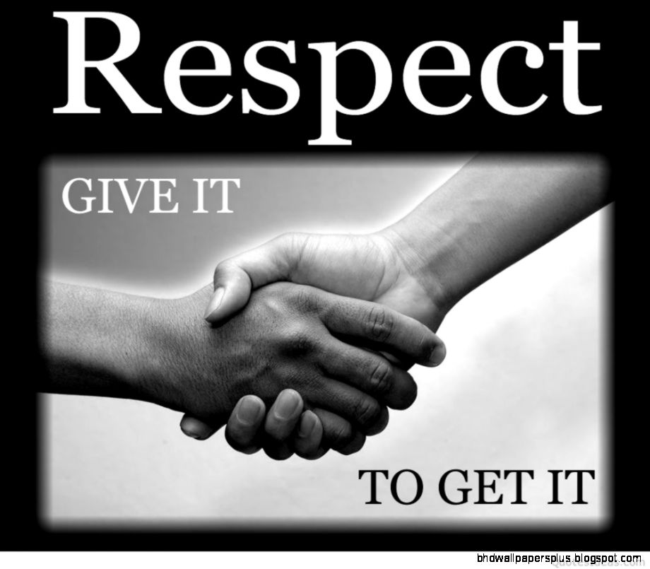 give respect quotes