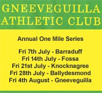 One Mile Race Series in Kerry & NW Cork...Every Fri at 8pm