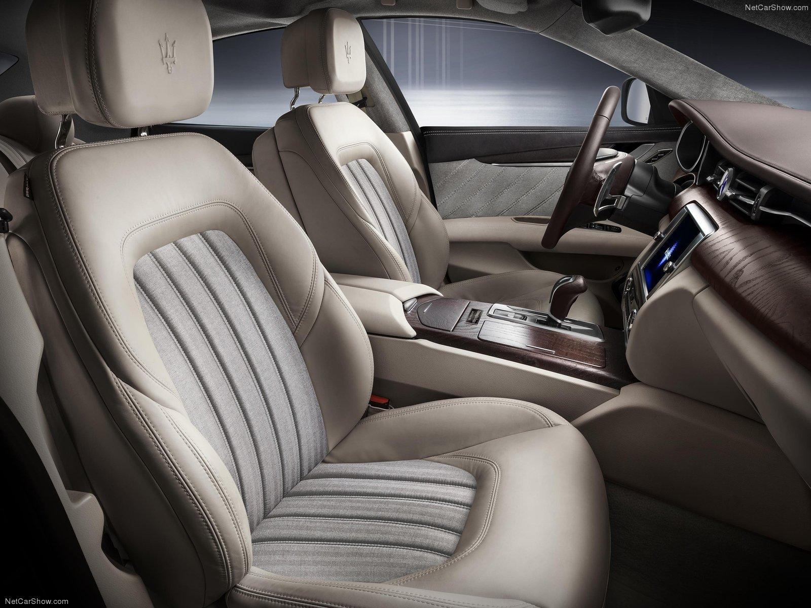 Hình ảnh siêu xe Maserati Quattroporte Zegna Edition Concept 2013 & nội ngoại thất