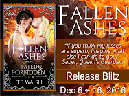 TFWalsh's FALLEN ASHES Release Blitz & Giveaway