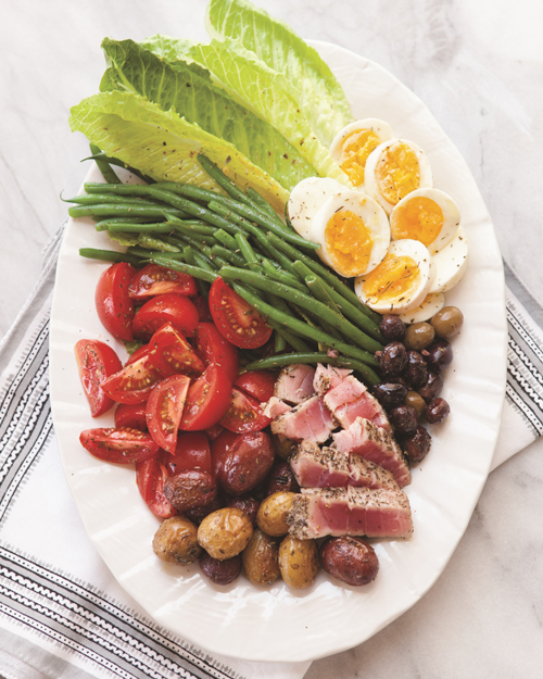 seared tuna nicoise salad recipe
