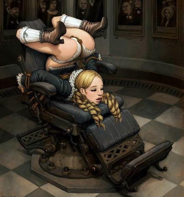 bondage chair bens