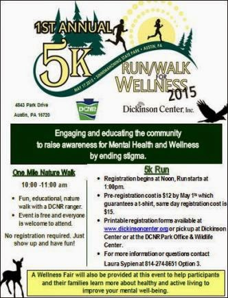 5-17 5K Run/Walk Dickinson Center