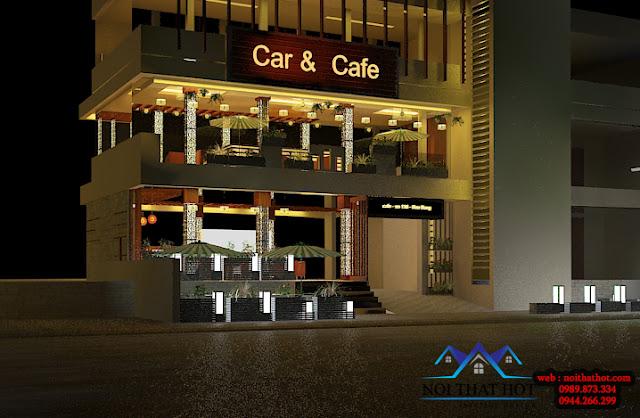 thiết kế quán cà phê chuyên nghiệp