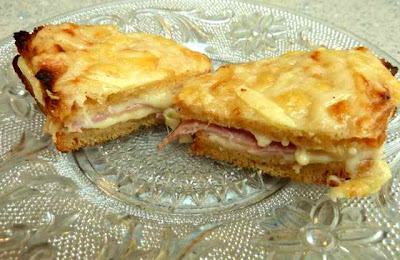 Free Baking Bear: GLUTEN FREE CROQUE MONSIEUR RECIPE with VEGETARIAN ...