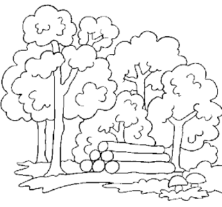 Dibujos de Bosques