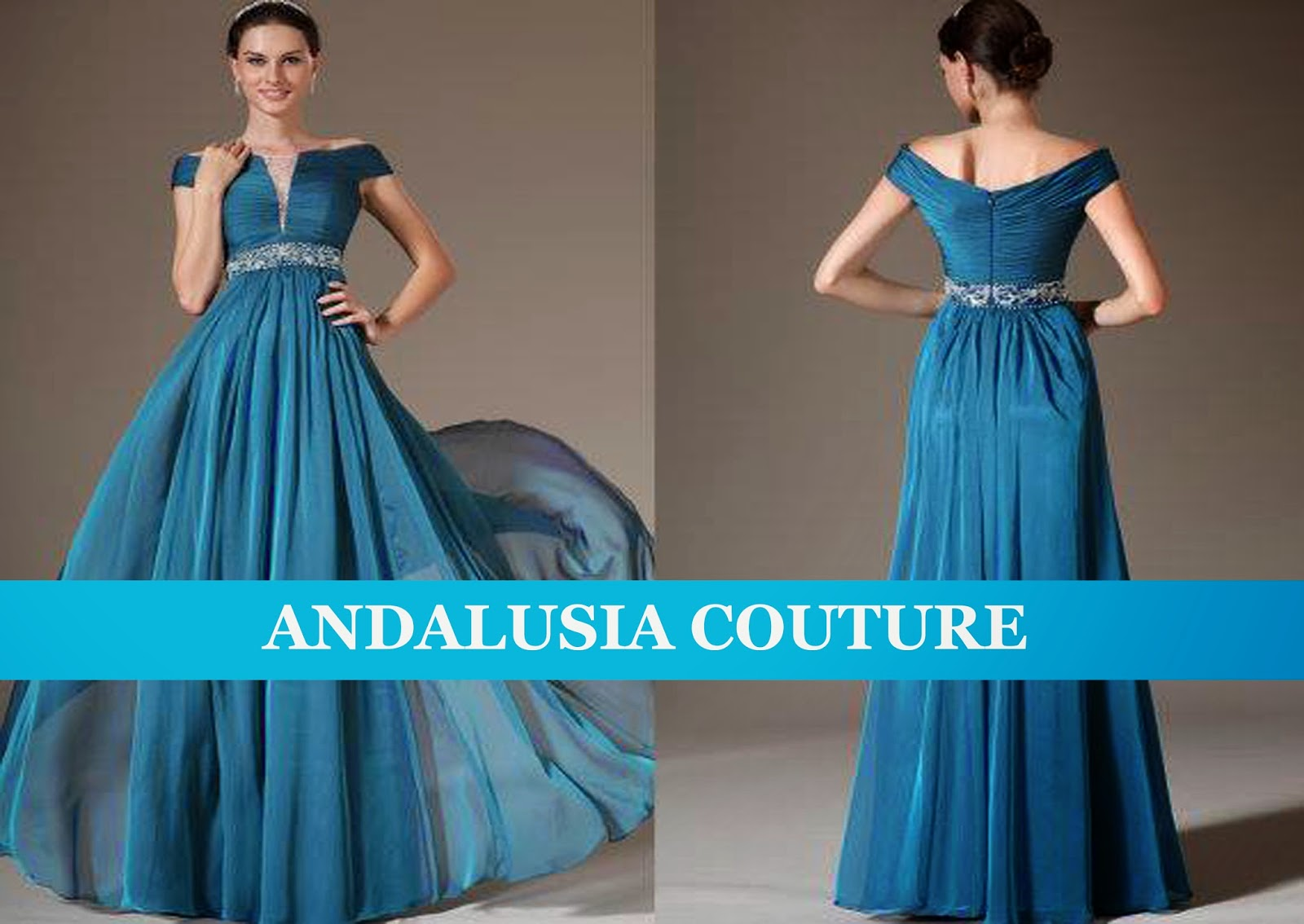 ANDALUSIA COUTURE: SIGNATURE STYLE EVENING DRESSES COLLECTION