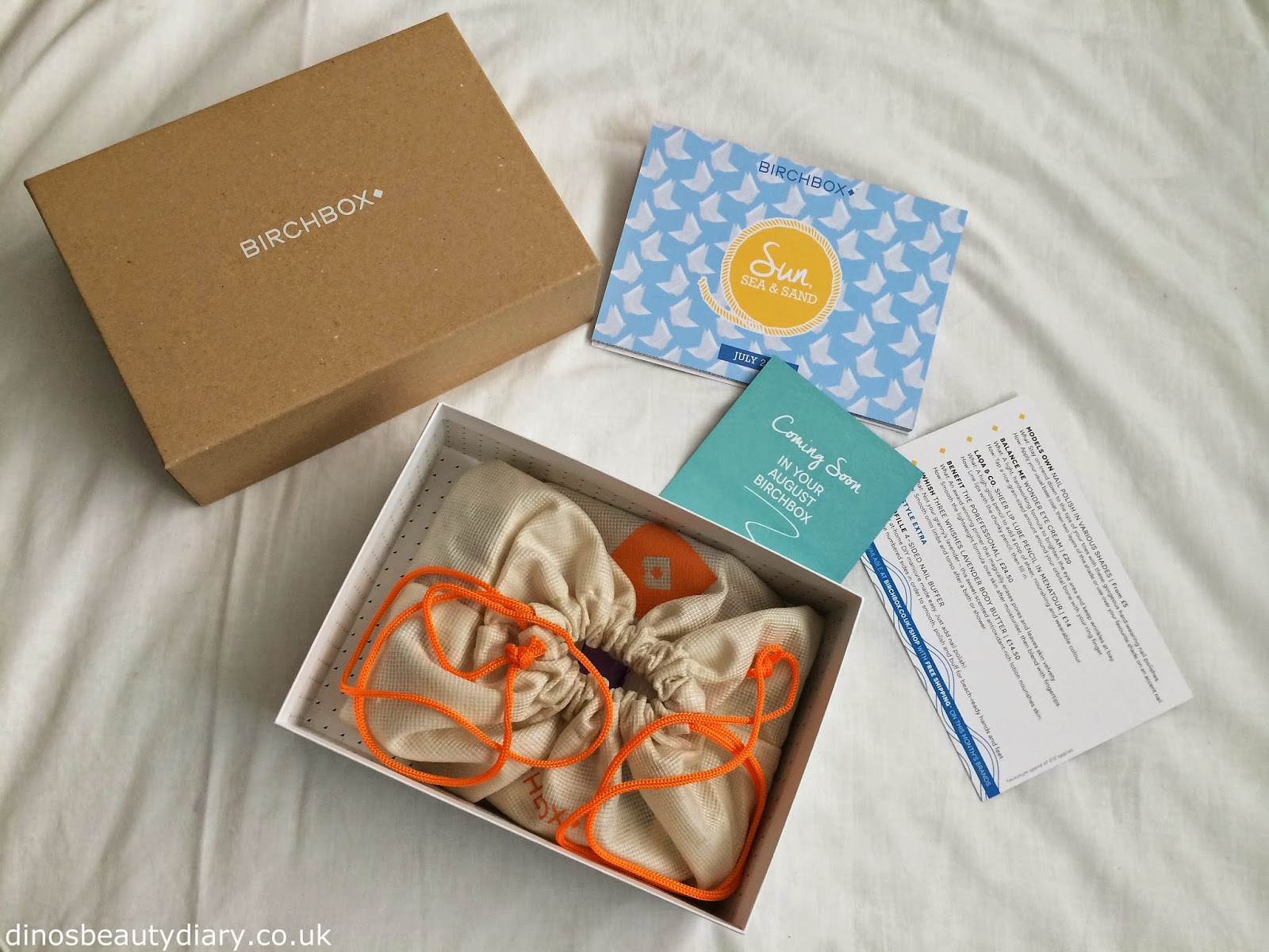 Dinos Beauty Diary - June and July Birchbox - July Birchbox