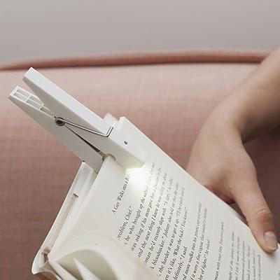 Pinza Lámpara LED para Libros