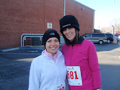The day we both got our 5k PR's