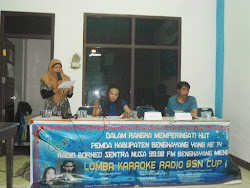 Suasana Lomba Karoke Radio BSN Cup I