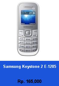 Daftar HP Murah Samsung Keystone 2 E-1205 - wedhanguwuh.com