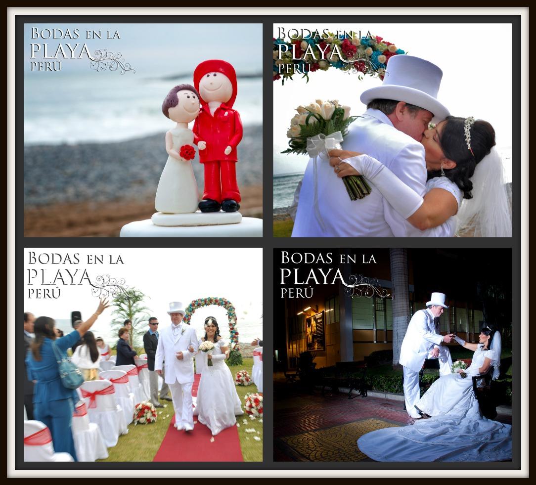 Matrimonio Simbolico En La Playa Peru : Bodas en la playa perú carla y tim renovación de votos