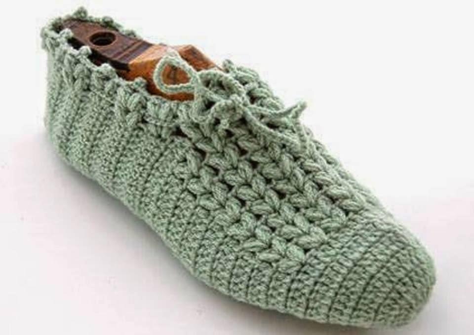 Free Crochet Patterns For Slippers And Socks : BOTAS HERMOSAS PATRONES GRAFICOS Patrones Crochet ...