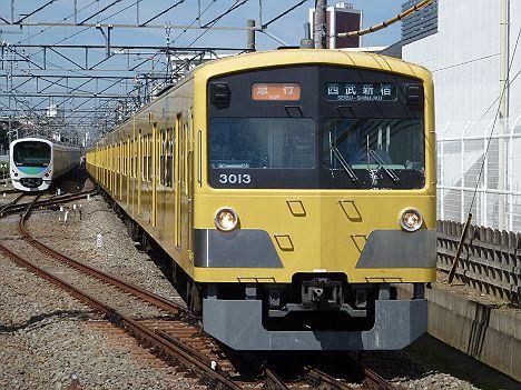 西武新宿線 急行西武新宿行き 3000系