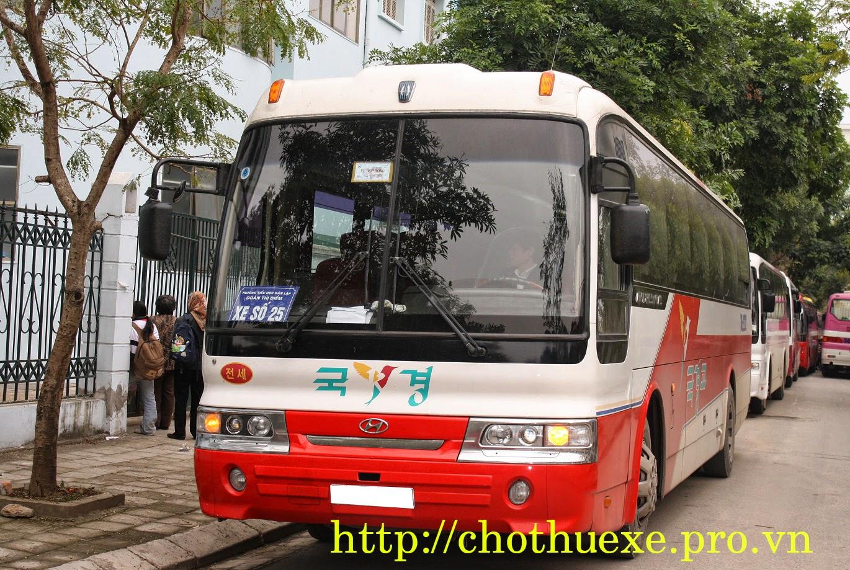 Cho thuê xe đưa đón học sinh trong nội thành Hà Nội