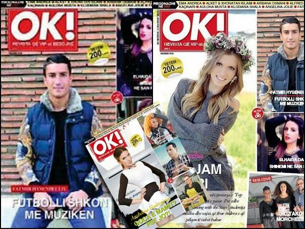 """Sherr per kopertinen e revistes """"OK"""""""