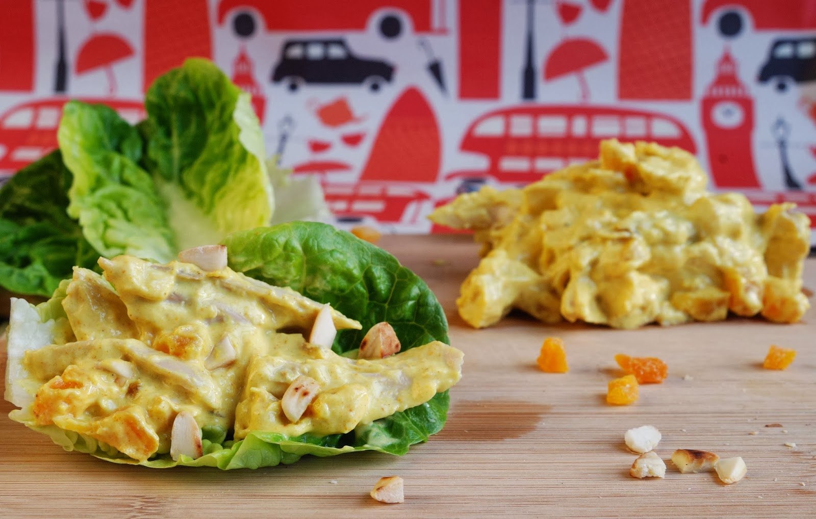 recipe low fat coronation chicken