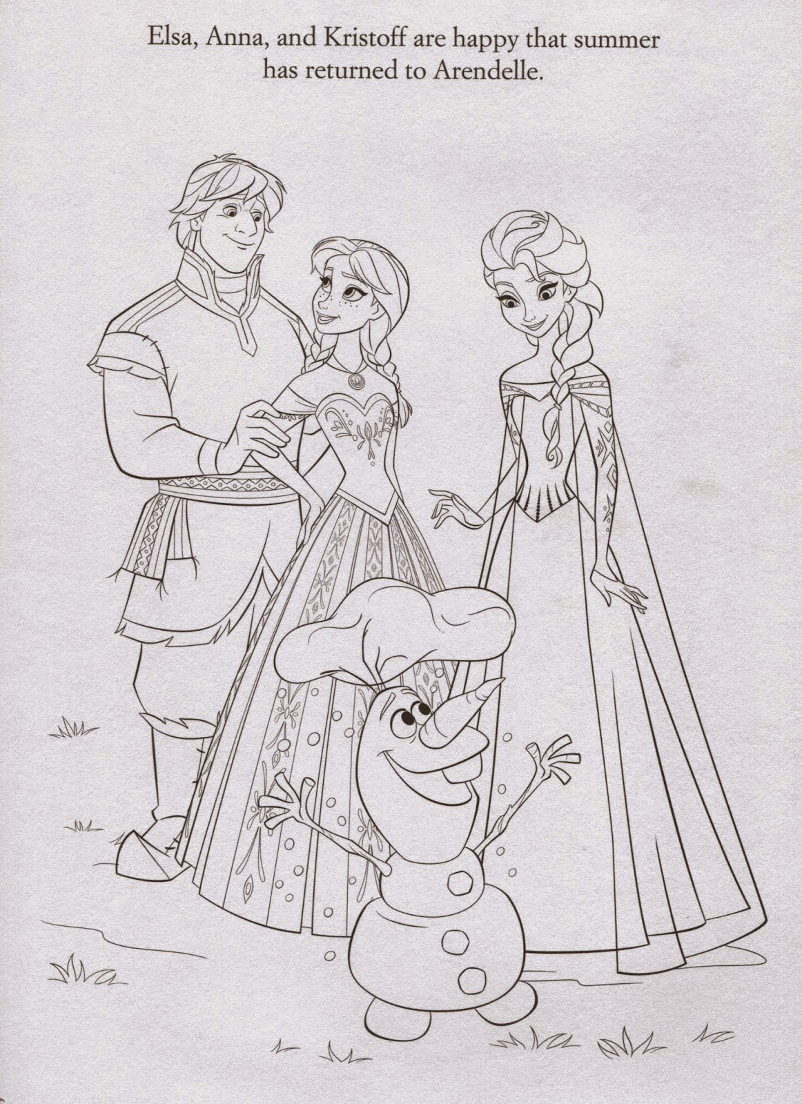 Frozen Coloring Pages To Print Out Instant Knowledge