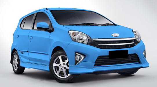 Warna Astra Toyota Agya - Light Blue