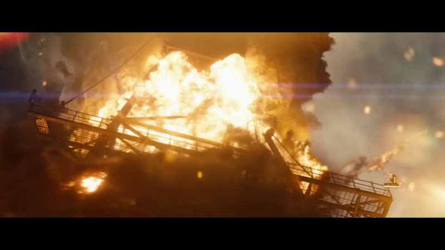 man of steel exploding oil drill