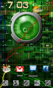 Droid Eye Live Wallpaper